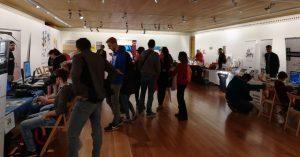 zona de expositores en MeetArch 2017