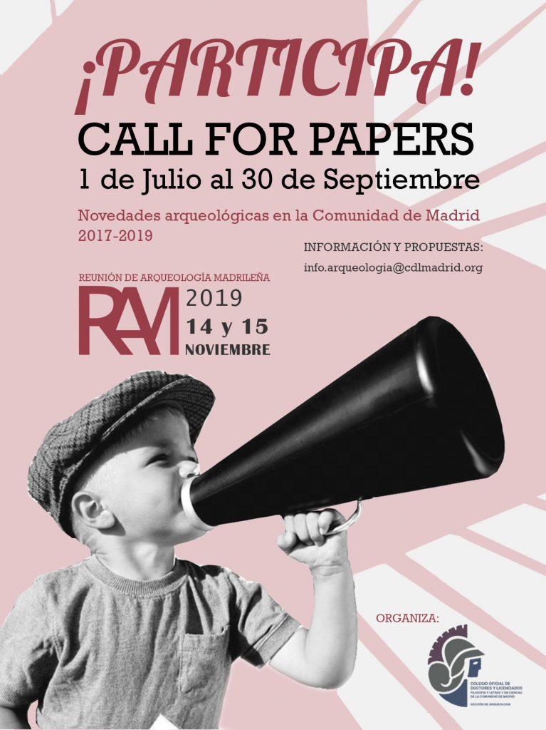 Reunión de Arqueología Madrileña 2019