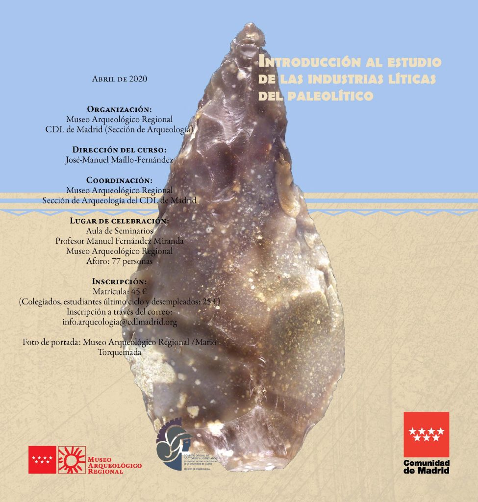 Introducción al estudio de las industrias líticas del paleolítico